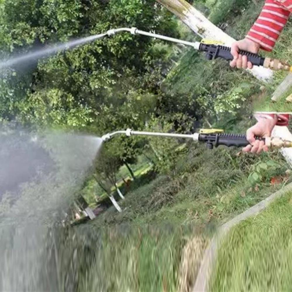 رأس مسدس ماء رشاش بضغط عالي لتنظيف السيارات والأرضيات والحدائق