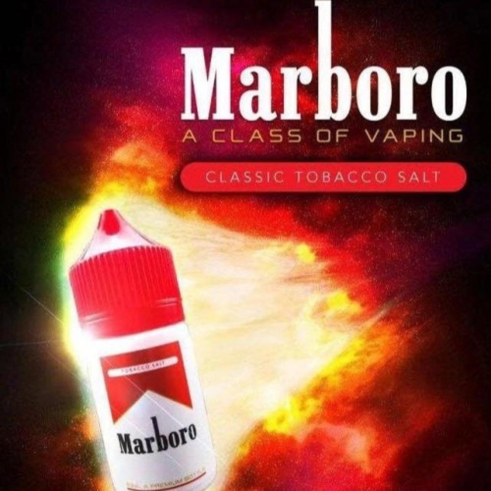 Marlboro - Salt Nicotinنكهة  مارلبورو أحمر