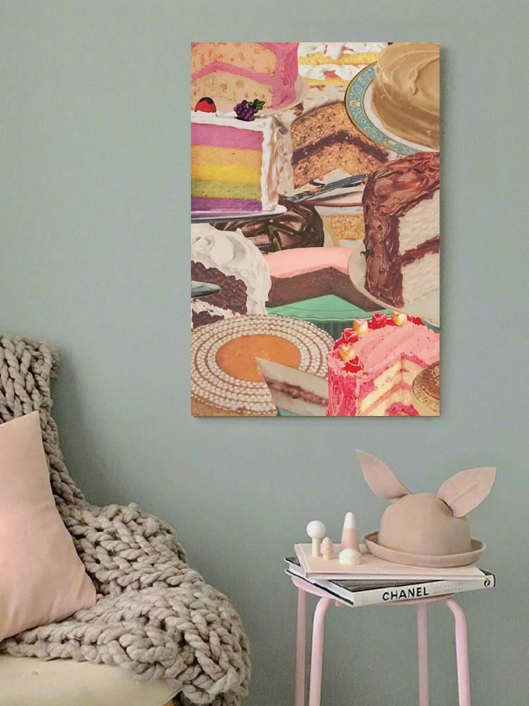 لوحة كيك خشب ام دي اف مقاس 40x60 سنتيمتر