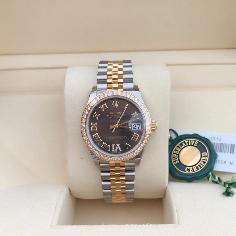 ساعة رولكس ديت جست الأصلية الفاخرة جديدة كليا 278383