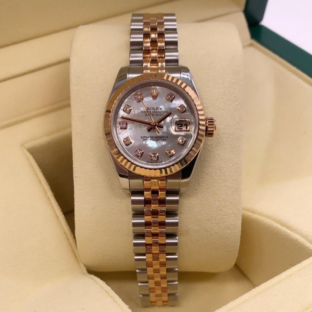 ساعة رولكس ديت جست الأصلية الثمينة مستعملة 179171