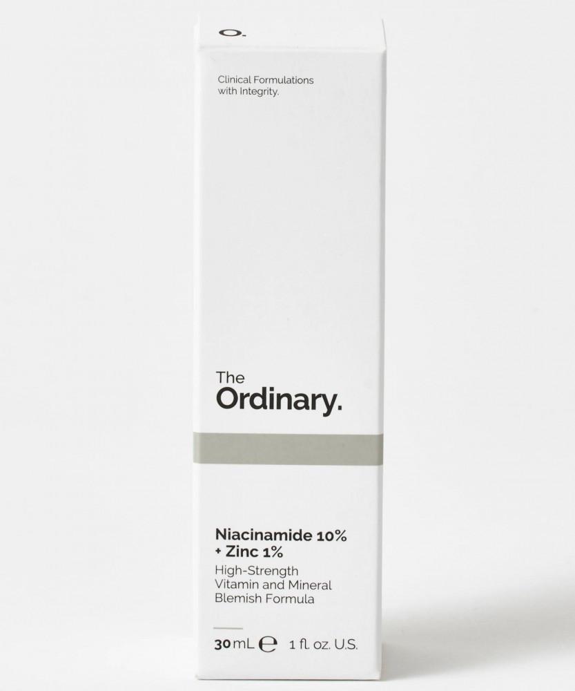 فيتامين نياسيناميد 10 بالمئة زائد 1 بالمئة زنك من ذا اورديناري تركيبة