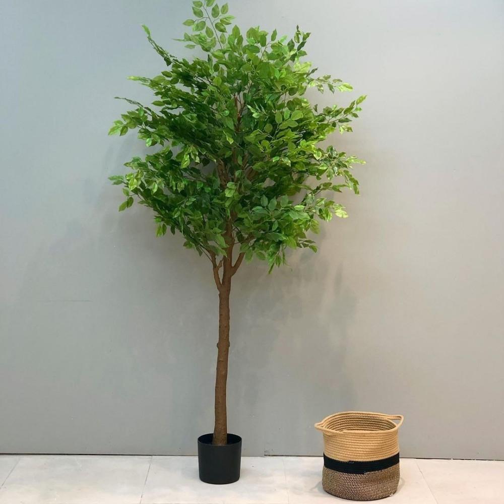 شجرة كرمنتينا صناعية نباتات زينه ومراكن شجر أخضر صناعي ديكورات المنزل