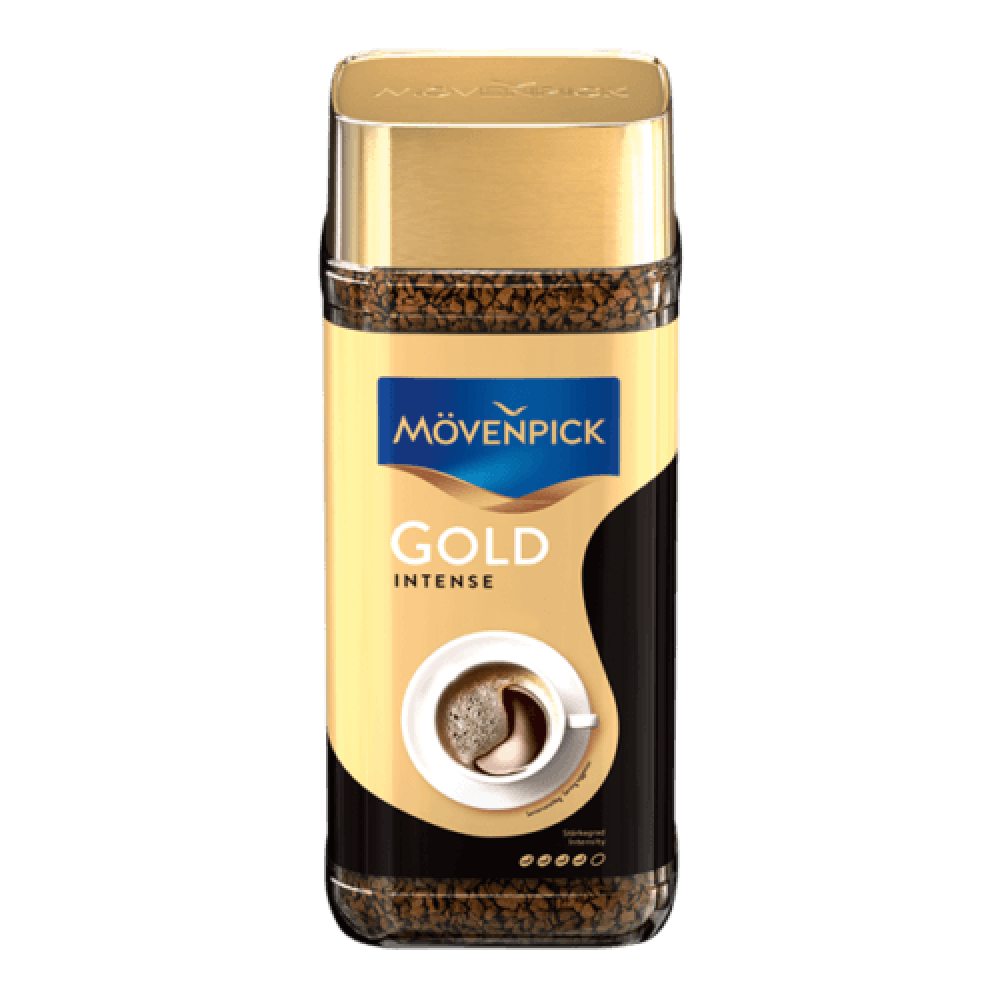 موفنبيك جولد انتينس قهوة فورية Instant coffee GOLD Intense movenpick