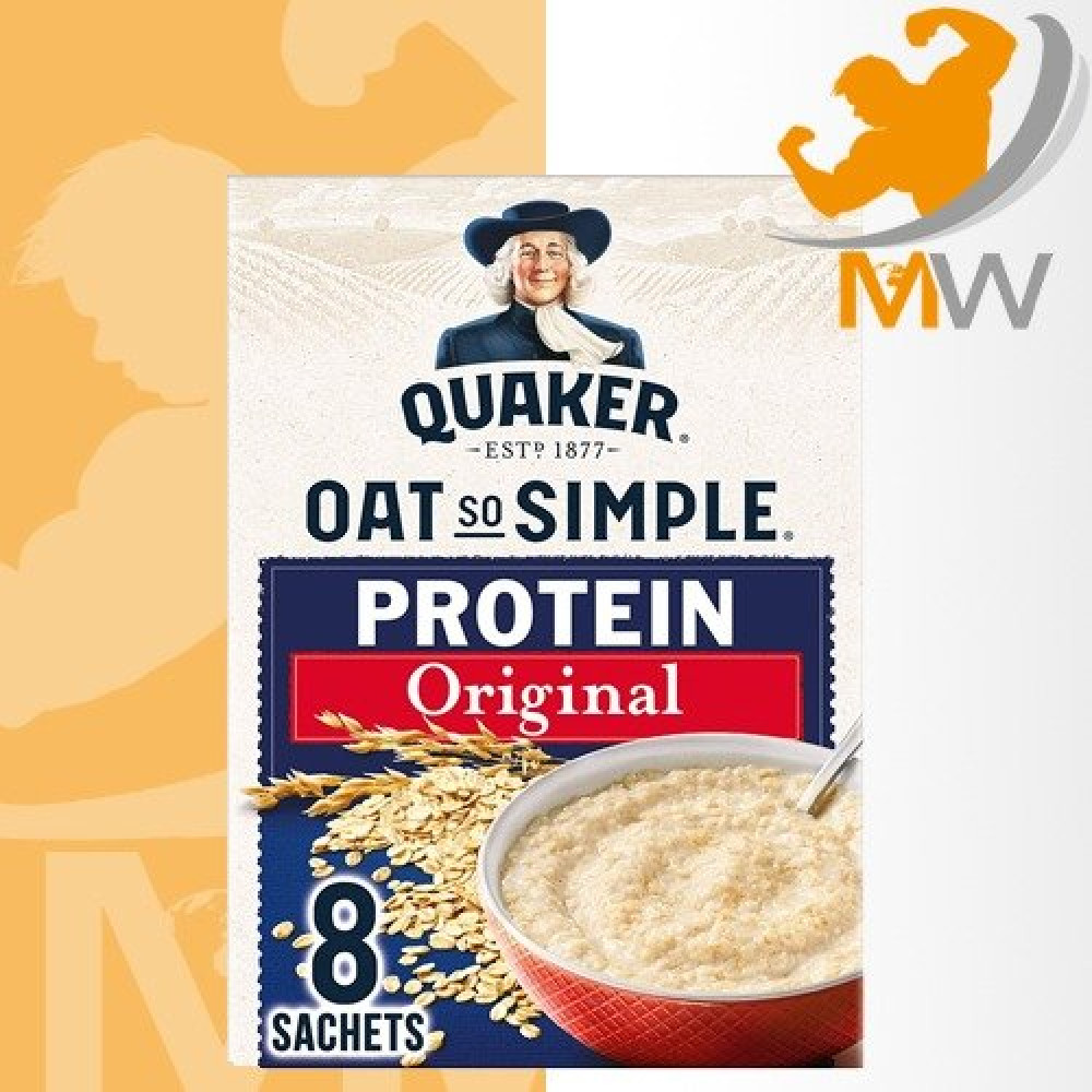 عالم العضلات مكملات غذائية شوفان كويكر بروتين  شوفان قولدين سيروب Quak
