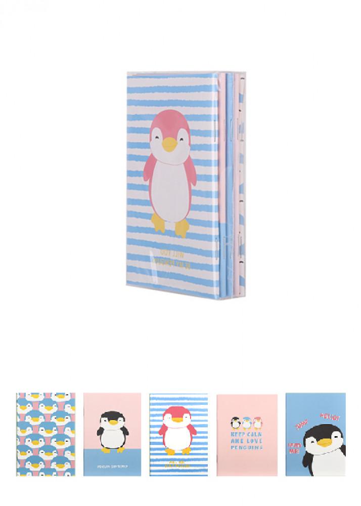 مجموعة دفاتر البطريق عدد 5 قطع ميني سو Miniso حب الحياة حب ميني سو تسوق واحصل علي افضل الاسعار