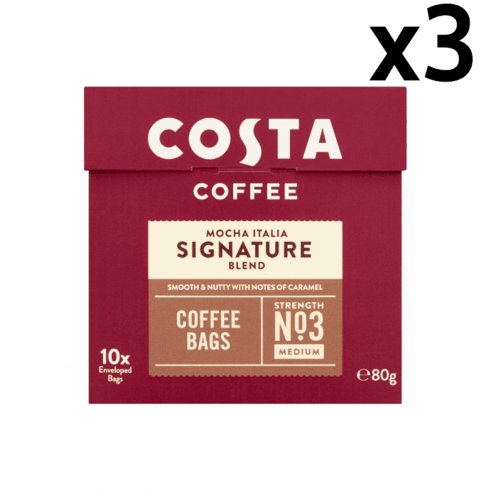 كوستا  بلاك كوفي أظرف القهوة السوداء