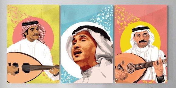 لوحات الفنانين والمشاهير