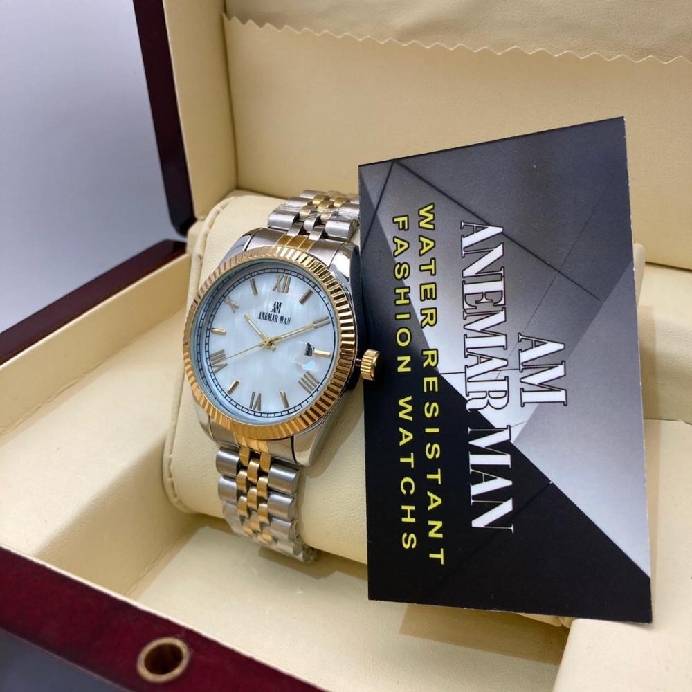 ساعة يد رجالية فخمة