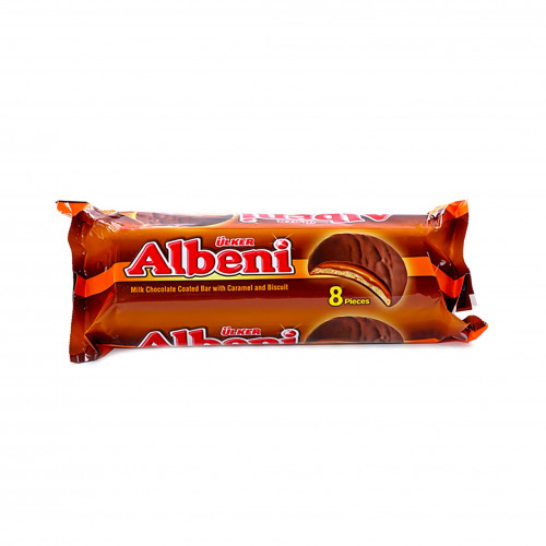 أولكر بسكويت مغطى بالشوكولاتة بالحليب والكراميل 344غرام سوق مقاضي