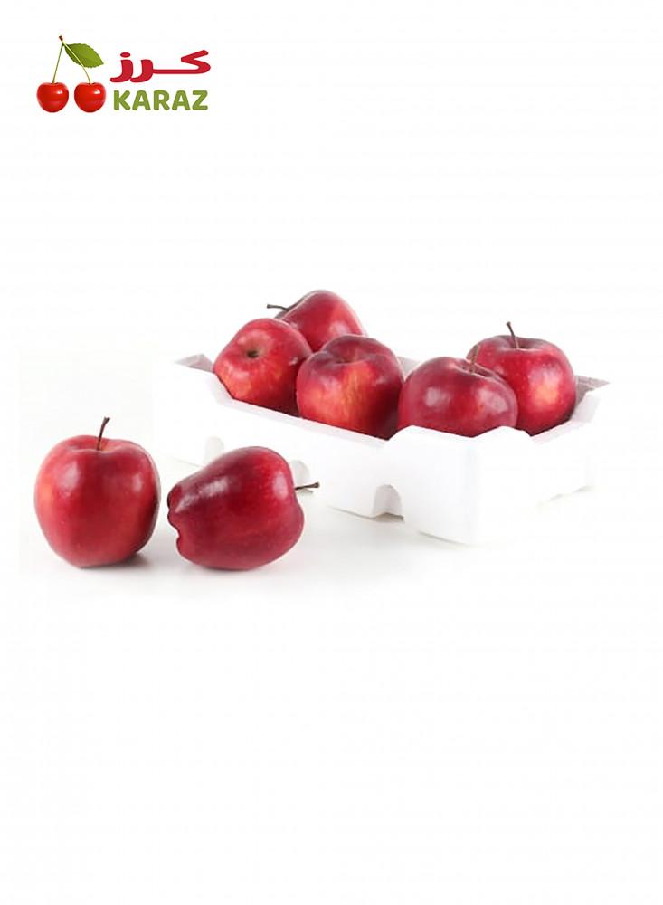 صحن تفاح احمر