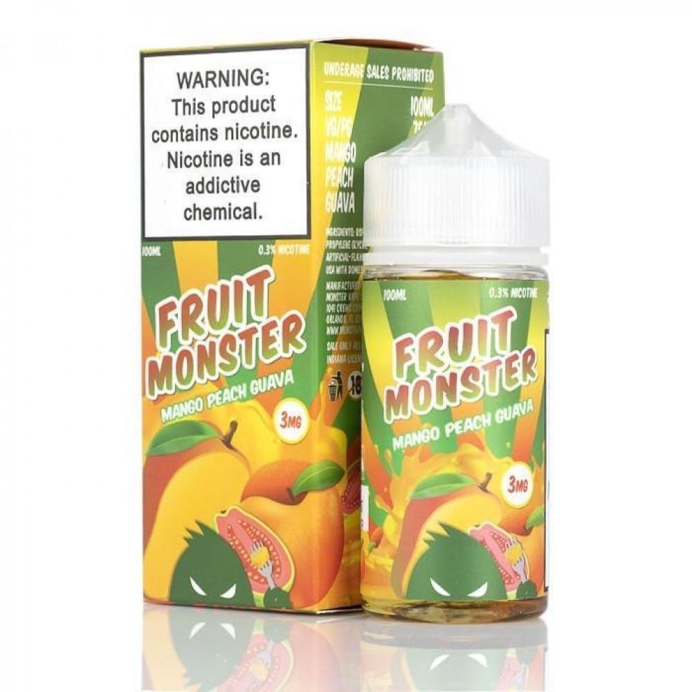 نكهة فروت مونستر مانجو خوخ جوافة FRUIT MONSTER MANGO PEACH GUAVA