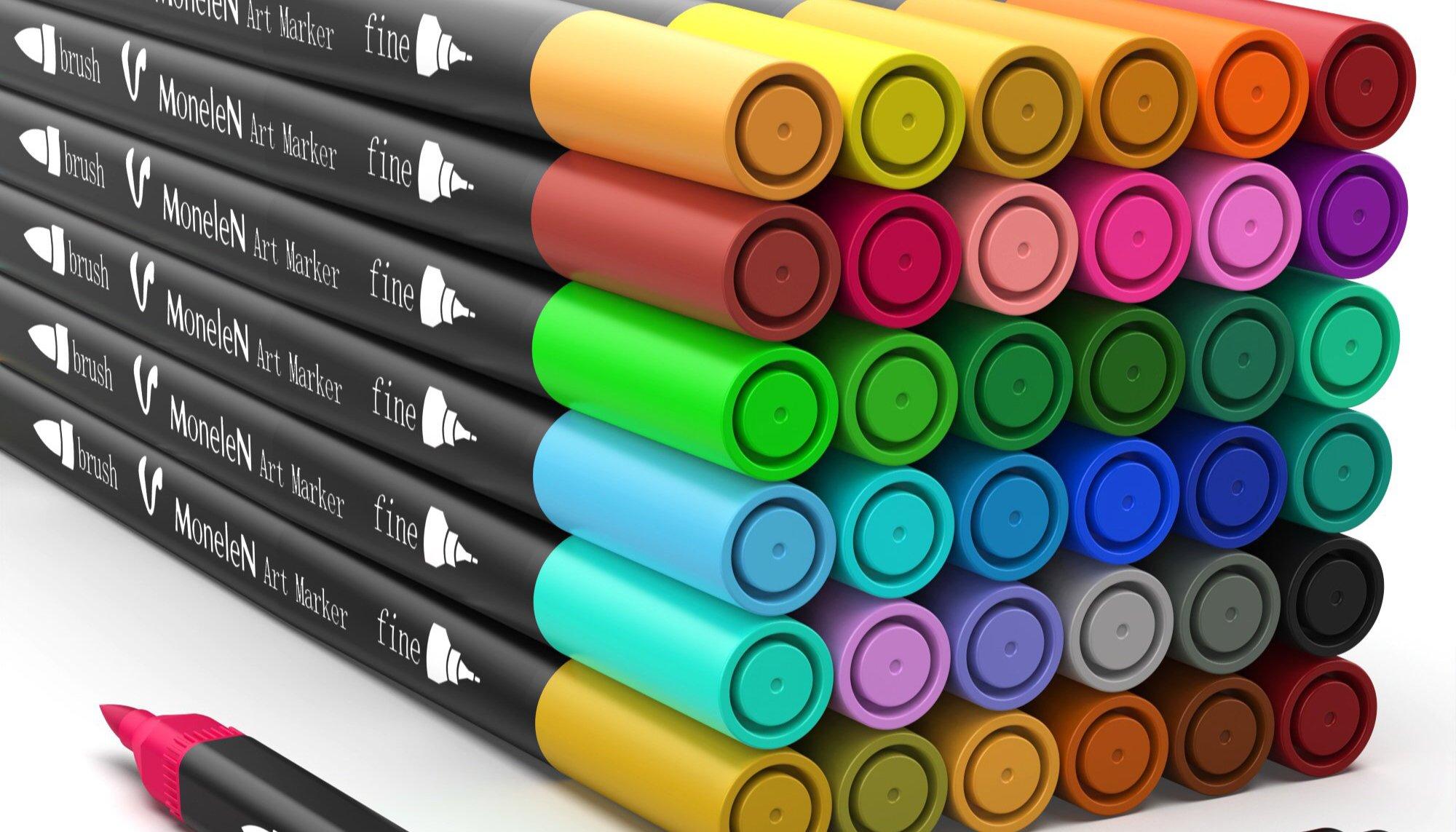 ألوان الماركرز
