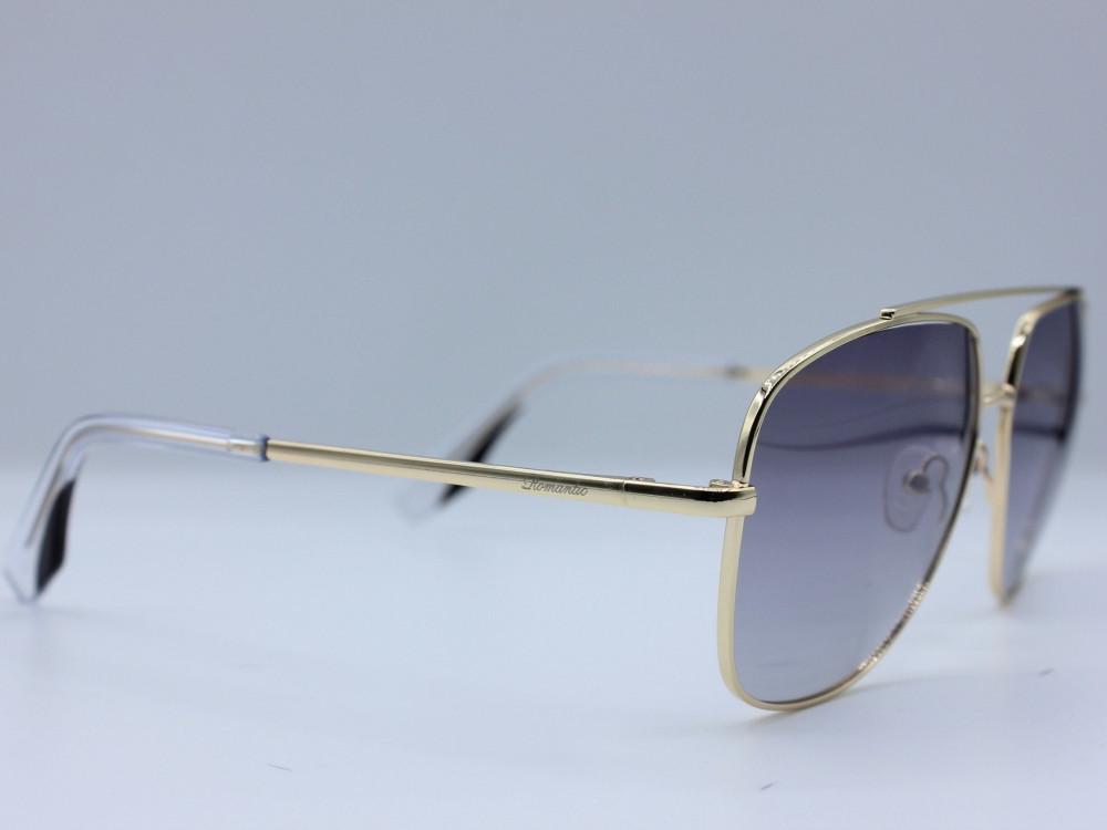نظاره شمسية دائرية من ماركة ROMANTIC لون العدسة اسود مدرج للجنسين 2021