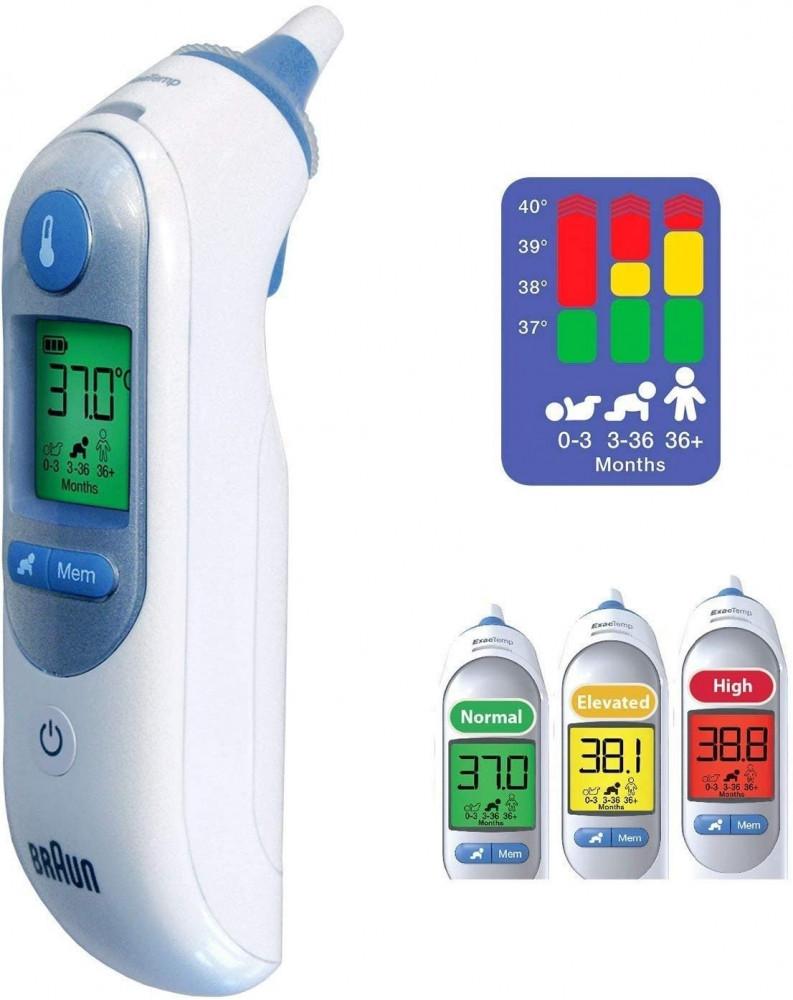 ميزان حرارة براون ثيرموسكان 7 Braun ThermoScan 7 IRT 6520