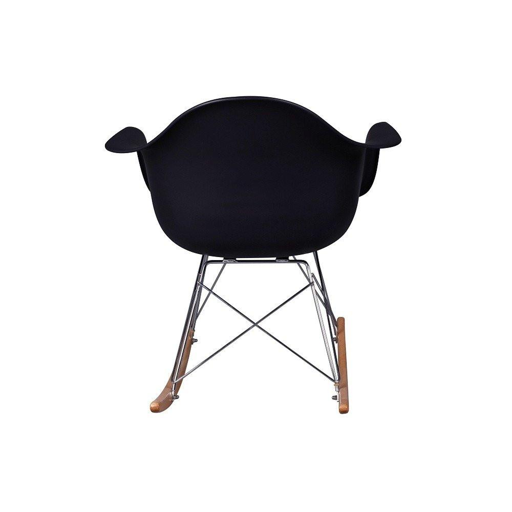 الزاوية الخلفية من كرسي جميل ورائع في مواسم طقم كراسي نيت هوم أسود