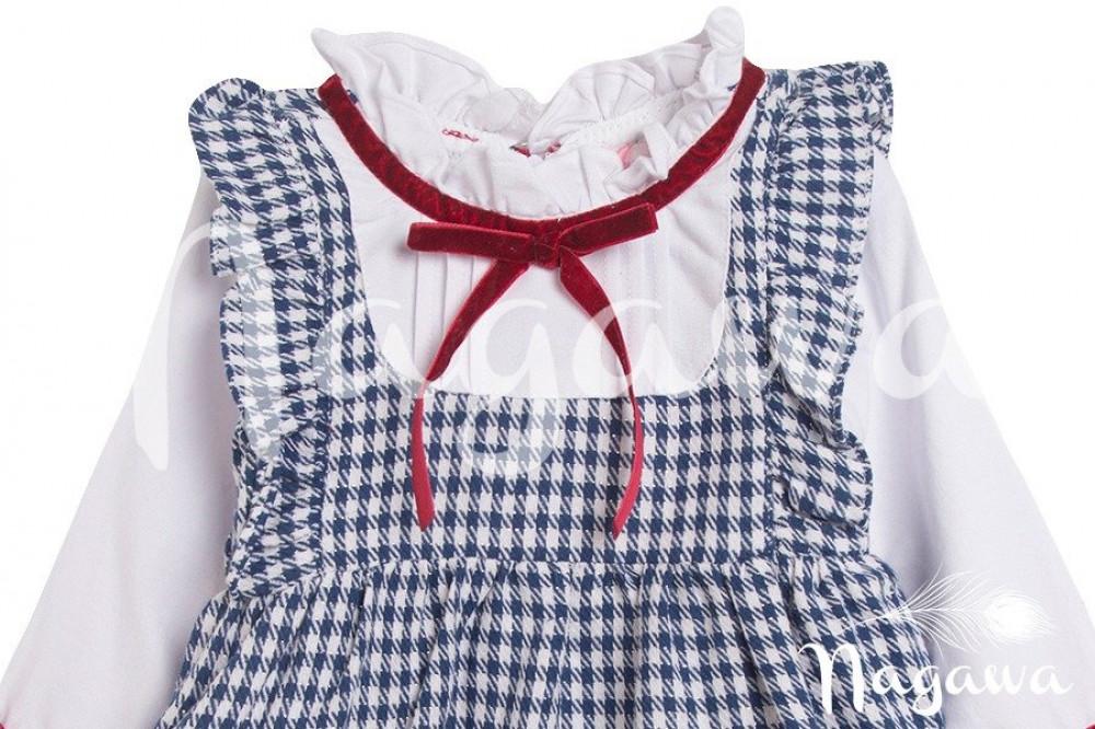 فستان-ياقة-مكشكشة