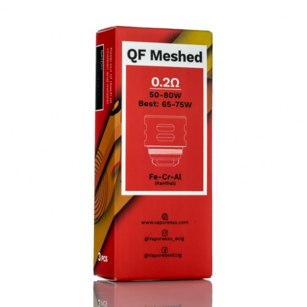 Vaporesso SKRR Replacement QF Meshed كويل COIL