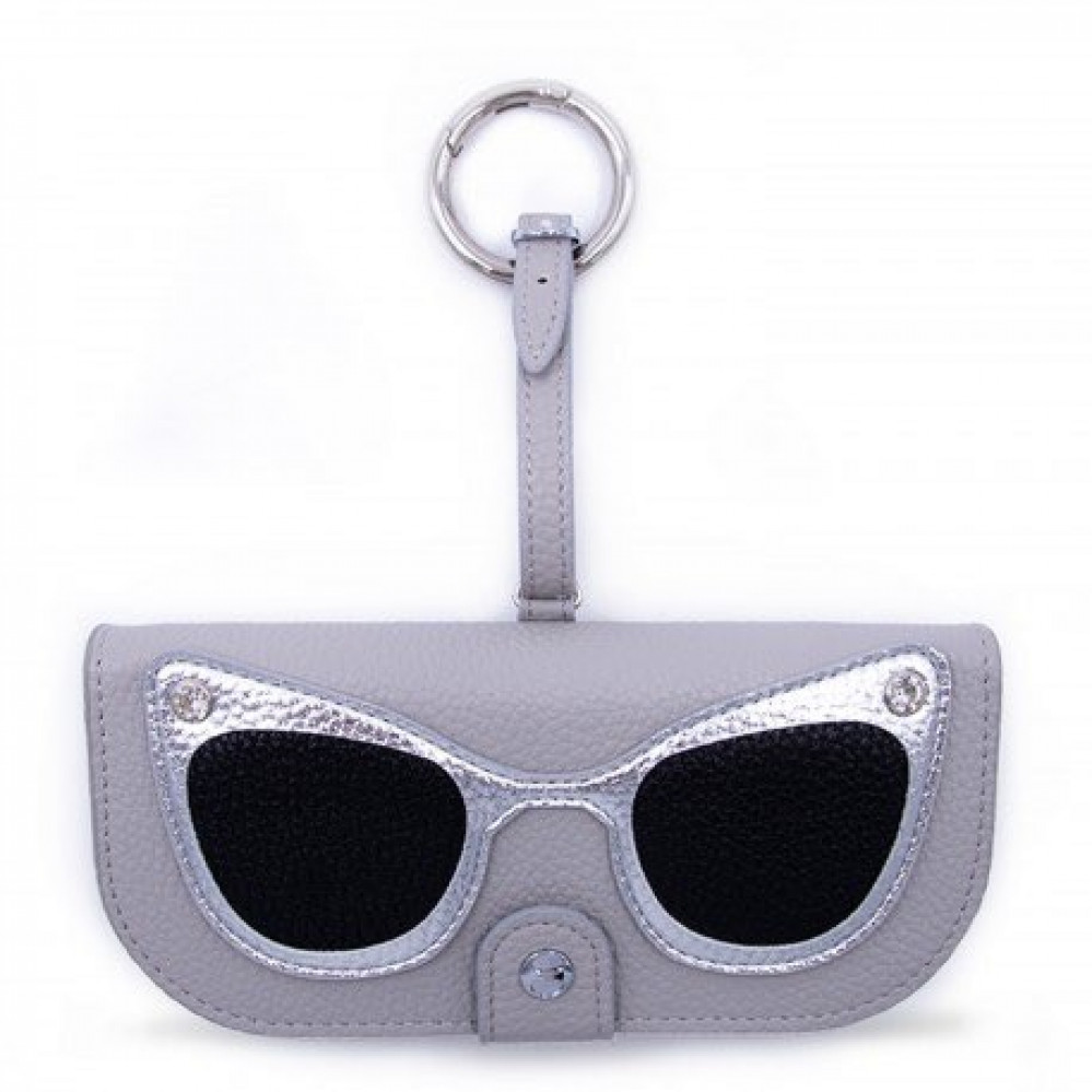 Iphoria Glasses Case Grey with Silver