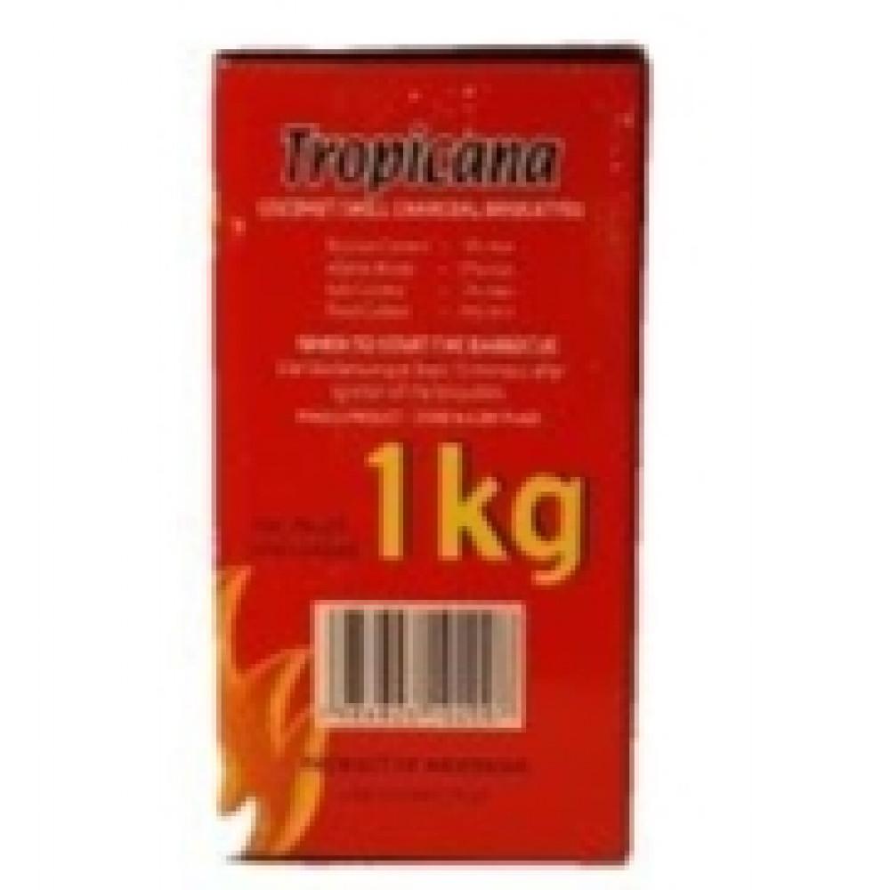 سعر فحم تروبيكانا جوز الهند 1ك - قمة الكيف