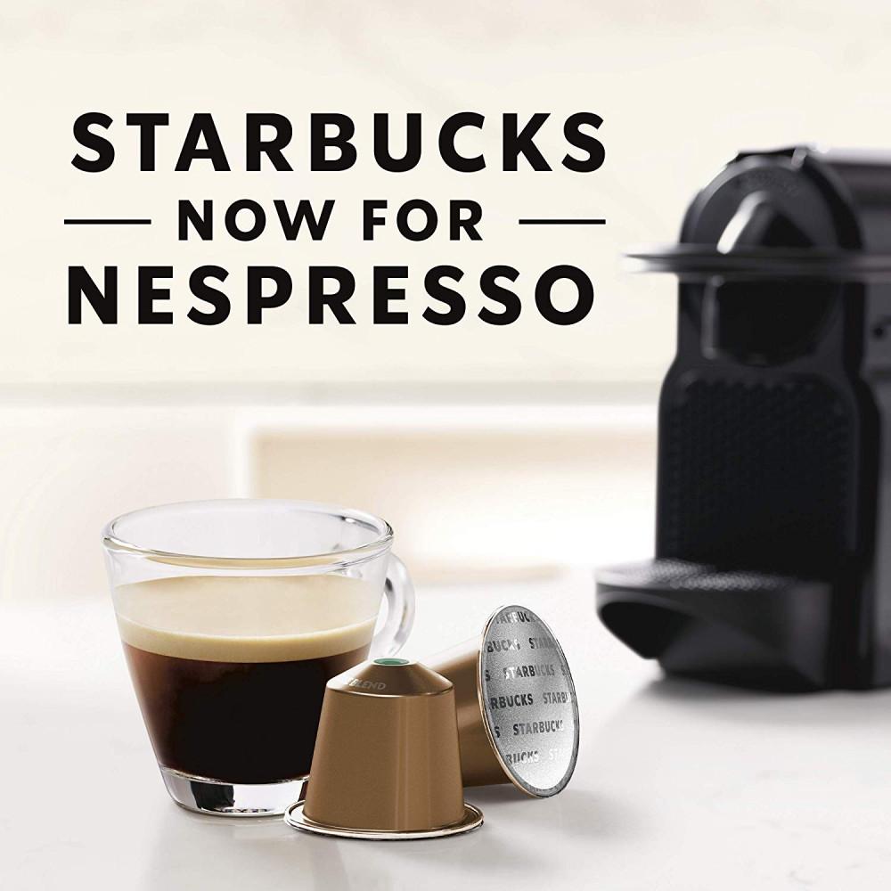 هاوس بلند لونجو قهوة ستاربكس كبسولات نسبريسو الأصلية Nespresso