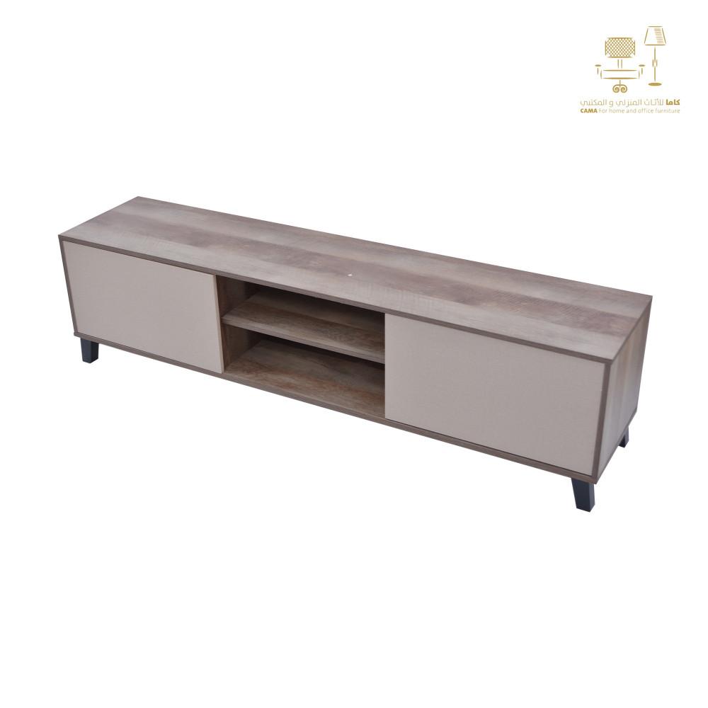 طاولة تلفزيون 180 سم C-TV-2187-180 BROWN من كاما