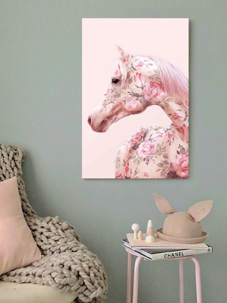 لوحة الحصان خشب ام دي اف مقاس 40x60 سنتيمتر