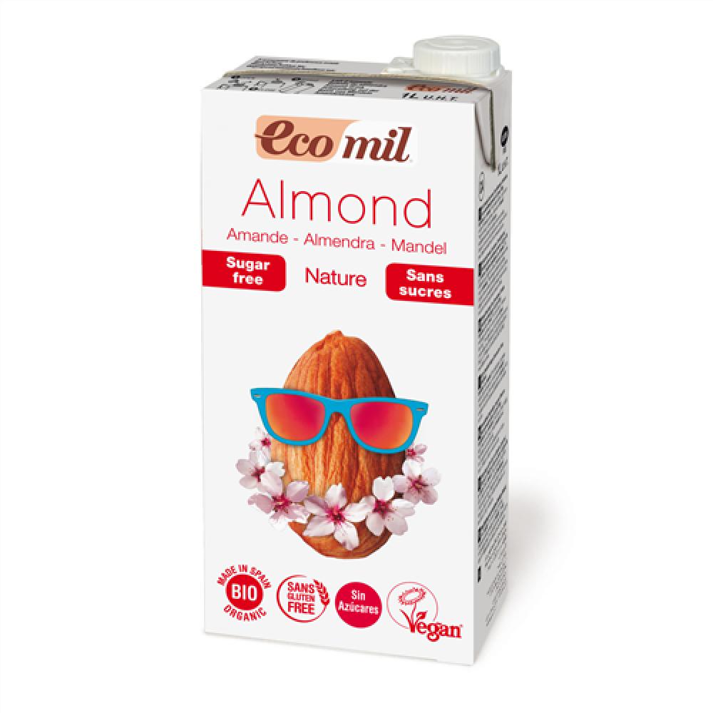 ايكوميل حليب اللوز العضوي 1 لتر خالي من السكر