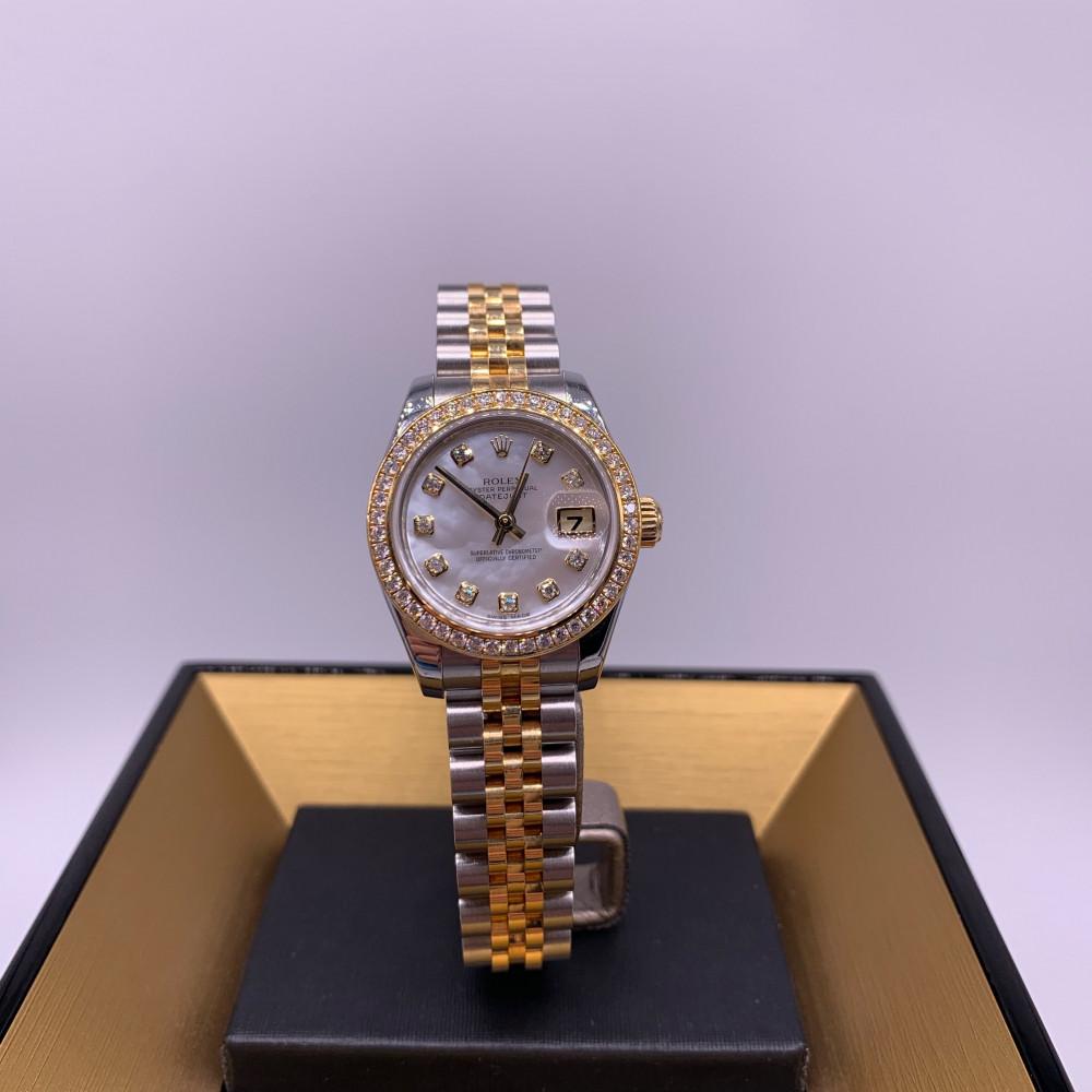 ساعة رولكس ديت جست ذهب ثمينة مستخدمة