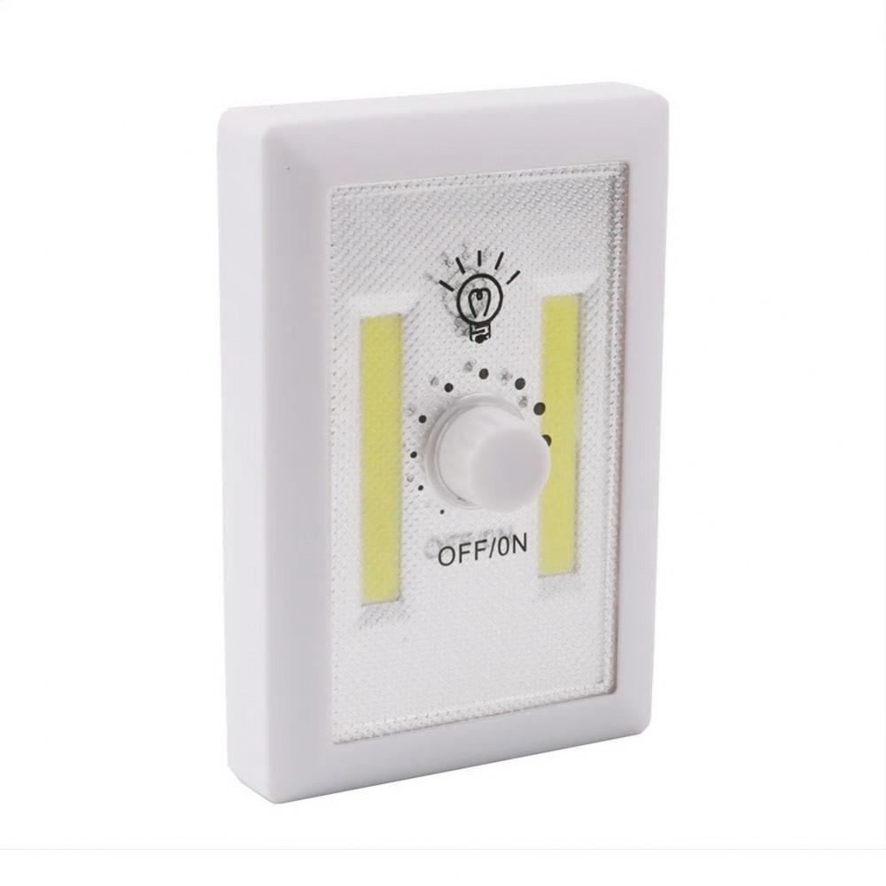 مصباح أضاءه بدون سلك LED يعمل بالبطارية بمفتاح قابل للتغيير