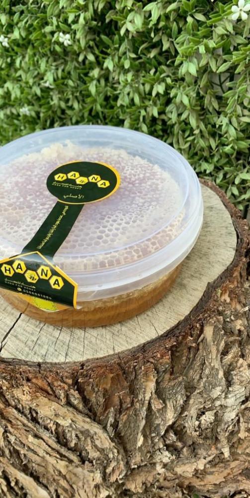 شمع عسل السدر البلدي من مناحل عسل هناء الالمعي