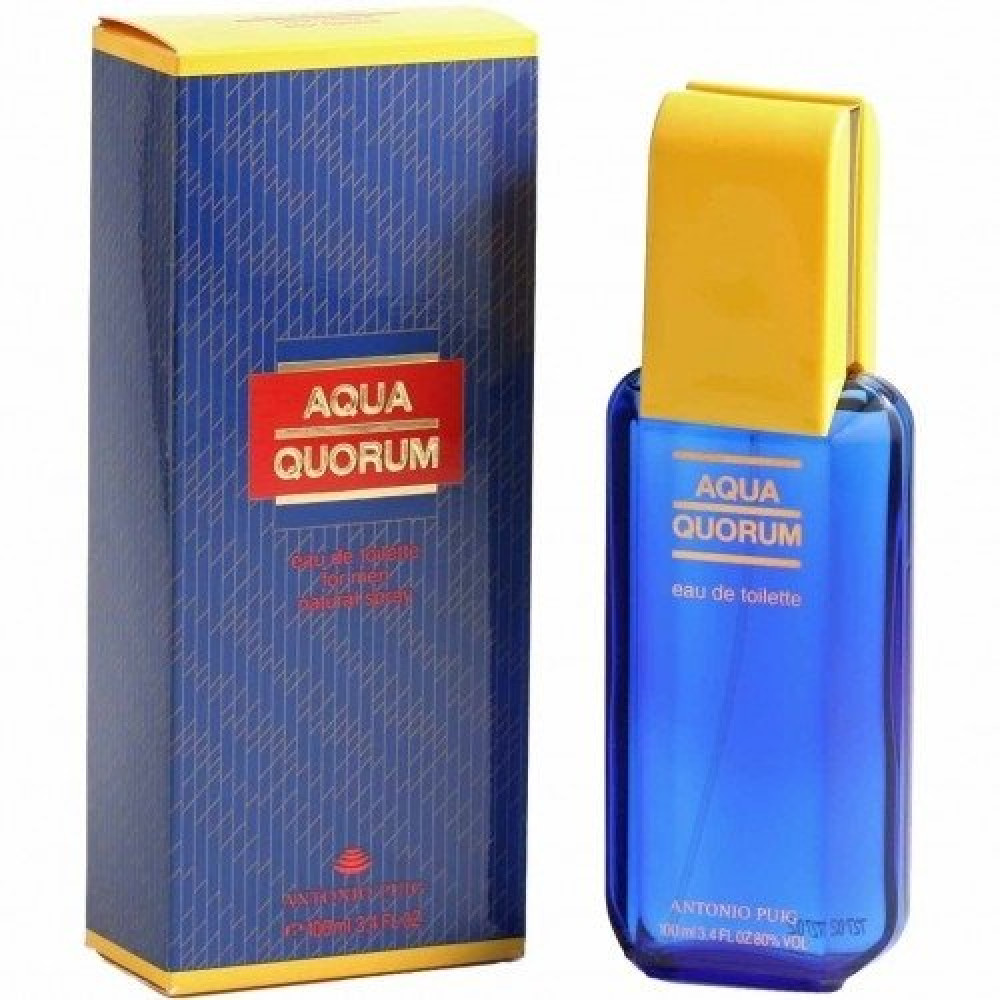 Antonio Puig Aqua Quorum Eau de Toilette 100ml متجر خبير العطور