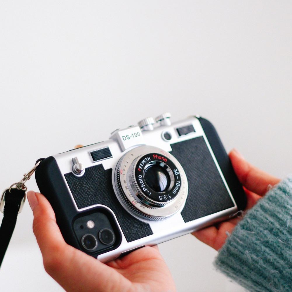 كفر ايفون Emily in Paris كفر على شكل كاميرا كفرات جوال جوا كفر آيفون