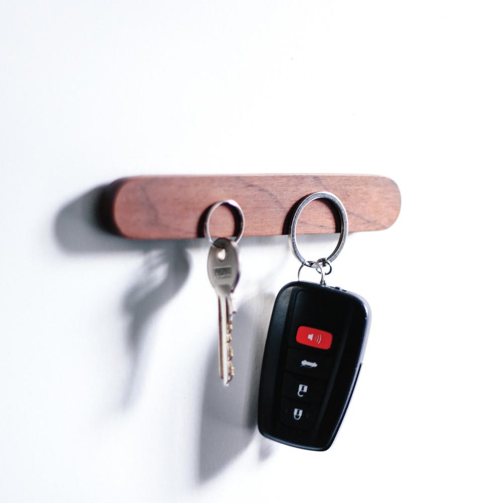 مغناطيس قوي حامل مفاتيح مغناطيسي شماعة تعليق مفاتيح  ديكور منزل