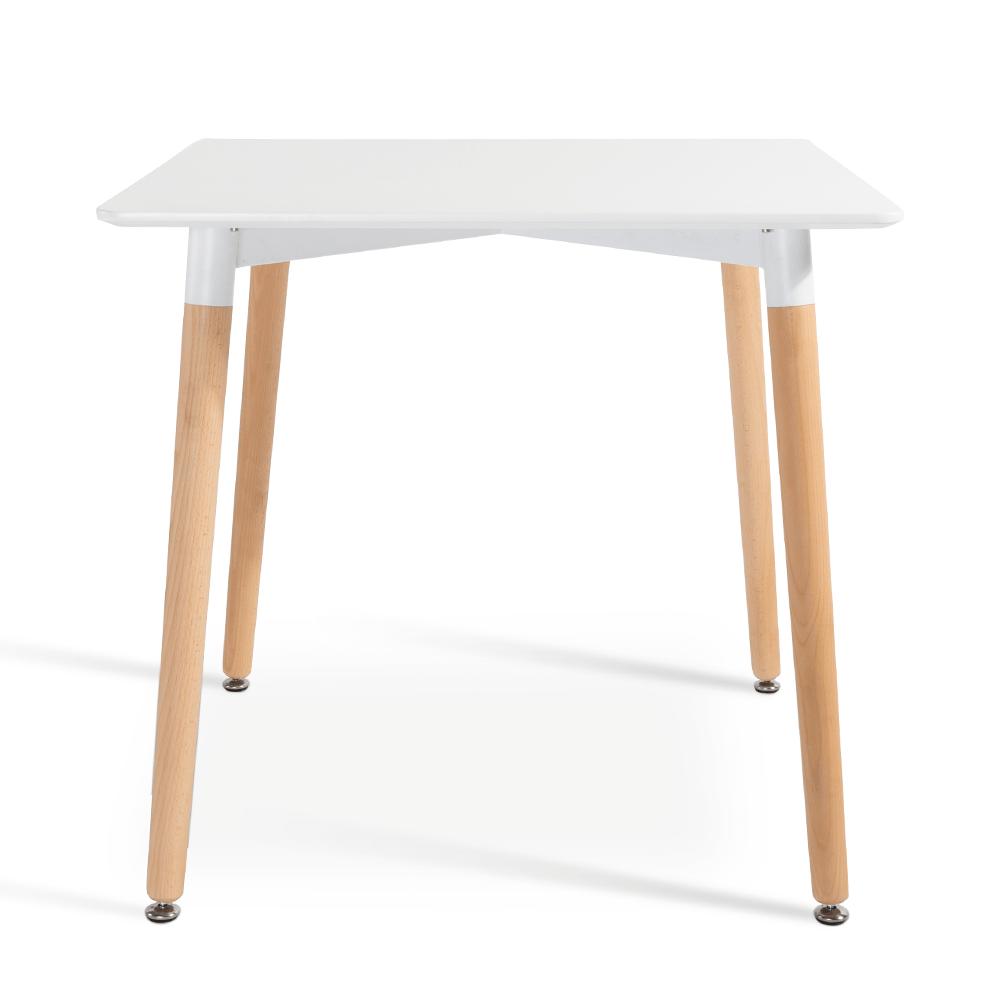 متجر مواسم طاولة نيت هوم بيضاء بتصميم جذاب وعصري مصنوعة من خشب الزان