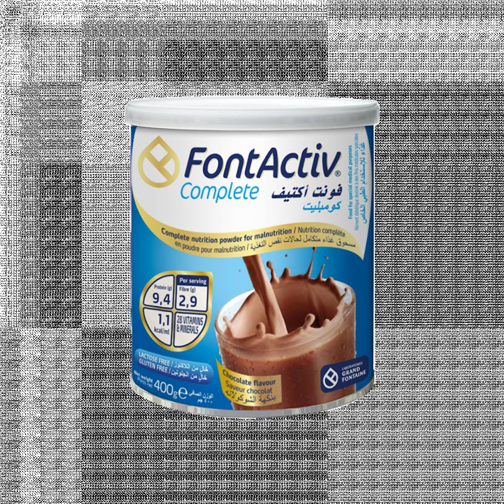 فونت أكتيف كومبليت مكمل غذائي بالشوكولاته 400جرام
