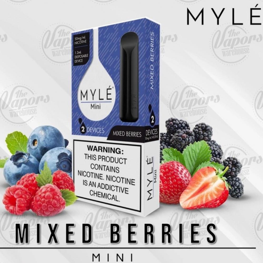 مايلي ميني بنكهة مكس التوت - MYLE Mini Mixed Berries