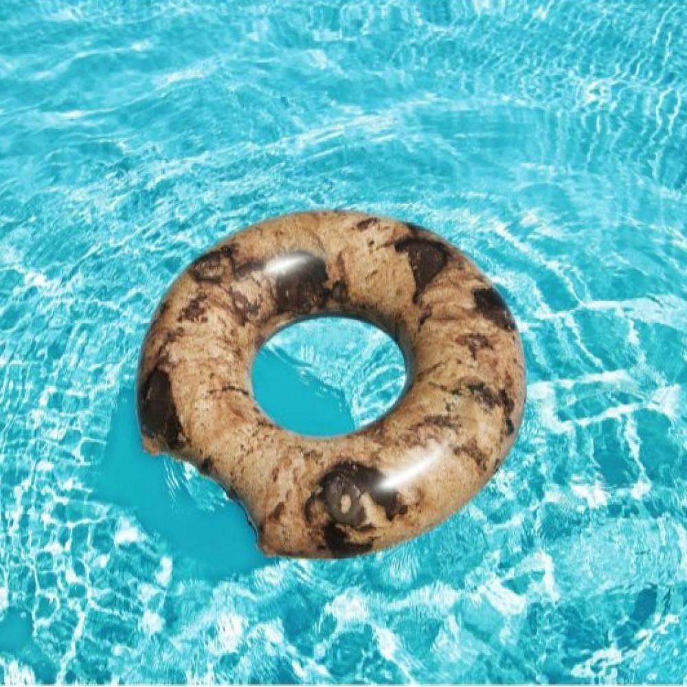 طوق سباحة على شكل كوكيز