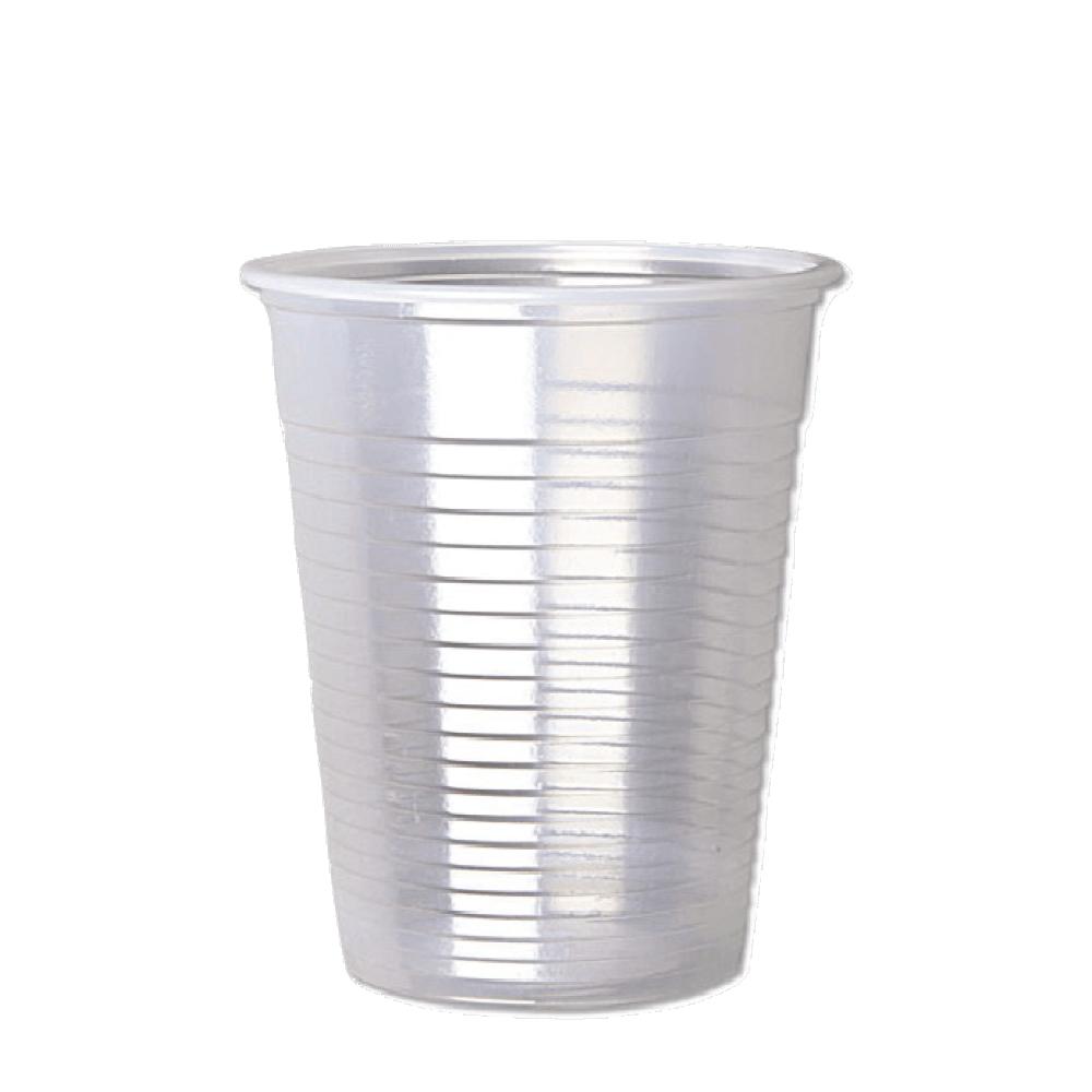 اكواب بلاستيك شفاف