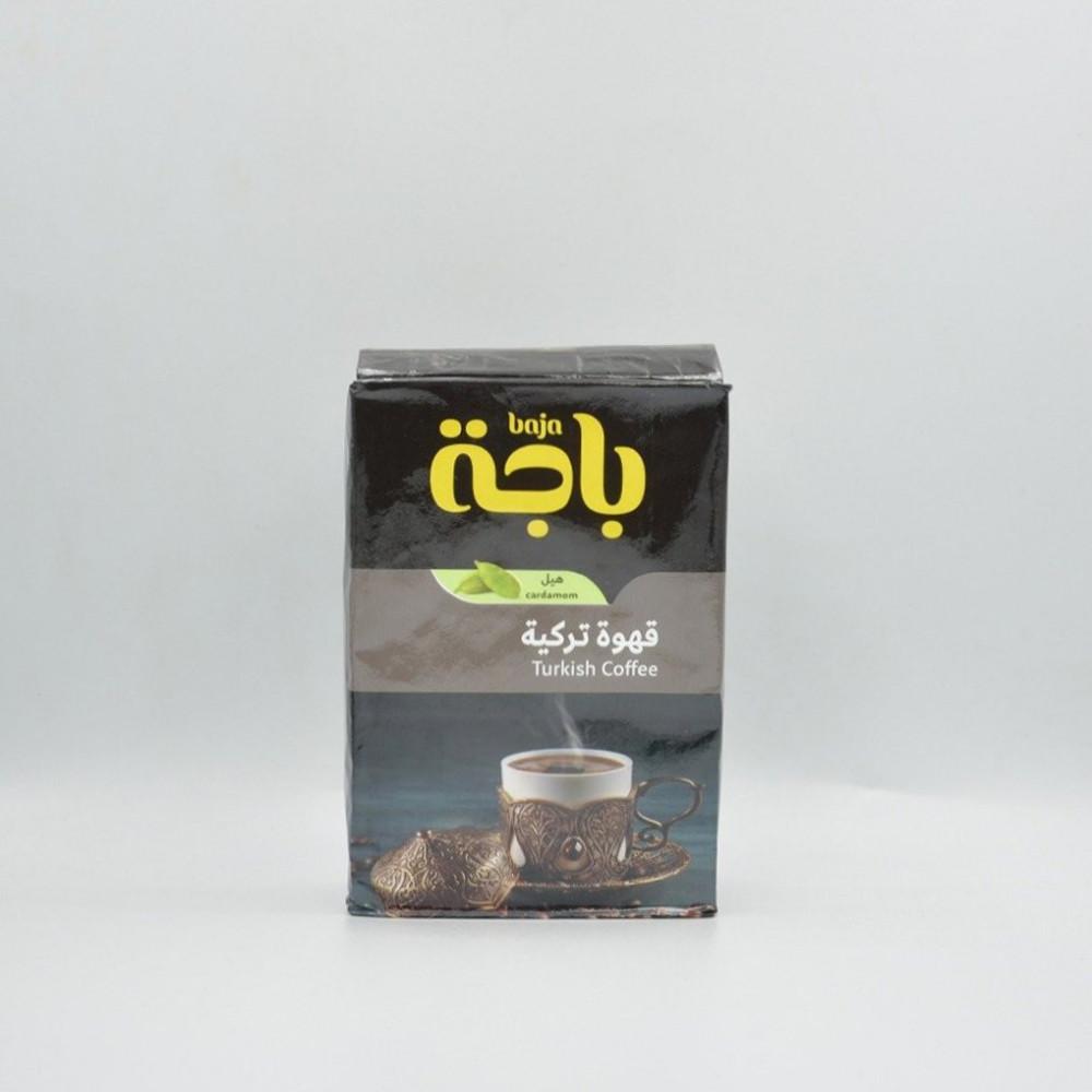 باجة قهوة تركية بالهيل 200 جرام قهوتكم