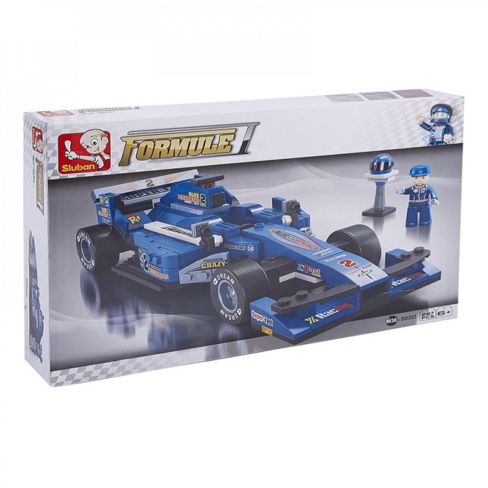 سلوبان, قطع تركيب سيارة سباق, ألعاب, Toys, Race car, Sluban
