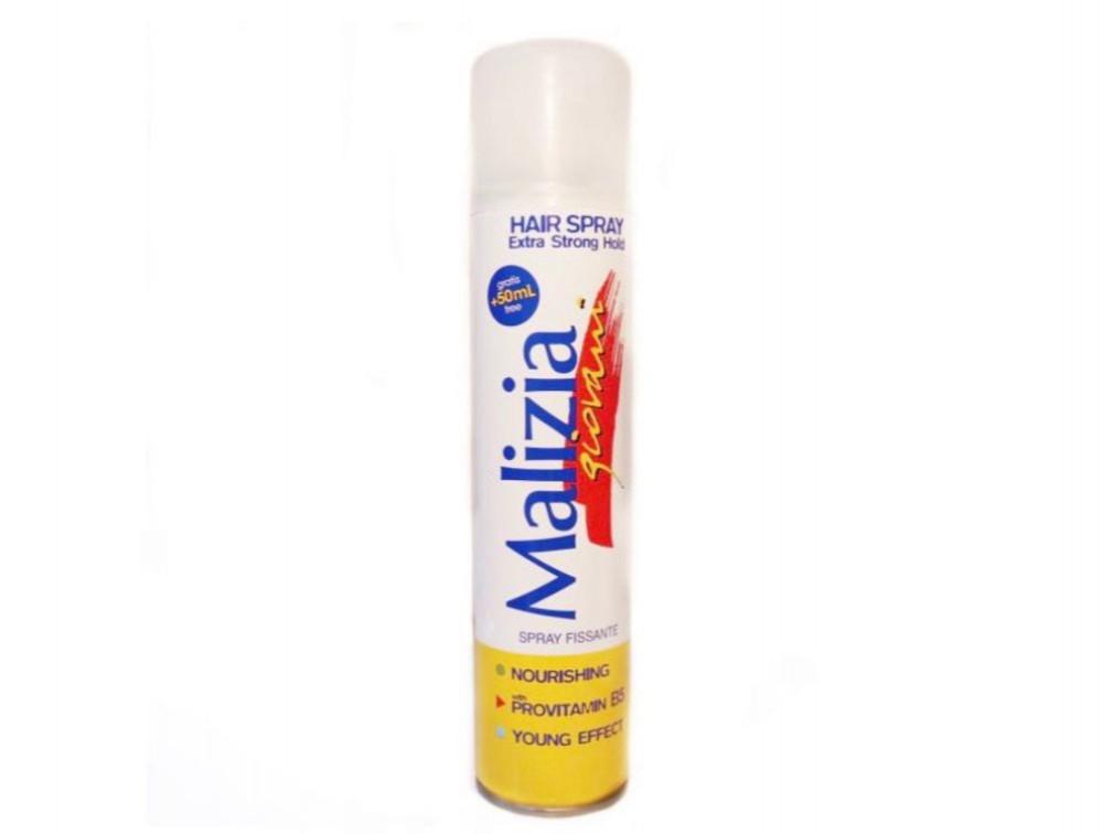 ماليزيا بخاخ للشعر شفاف 250مل Malizia Hair spray