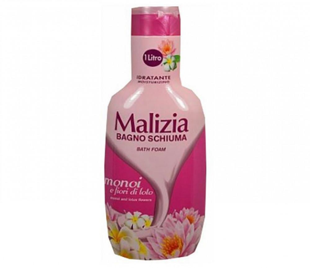 ماليزيا جل الاستحمام برائحة زهرة اللوتس 1لتر Malizia Bath-Foam MONOI A