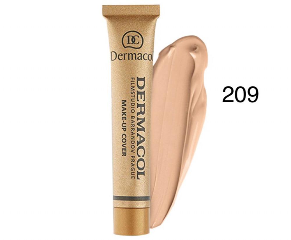 ديرماكول كريم اساس 209 للوجه DERMACOL Make Up Cover Foundation 209