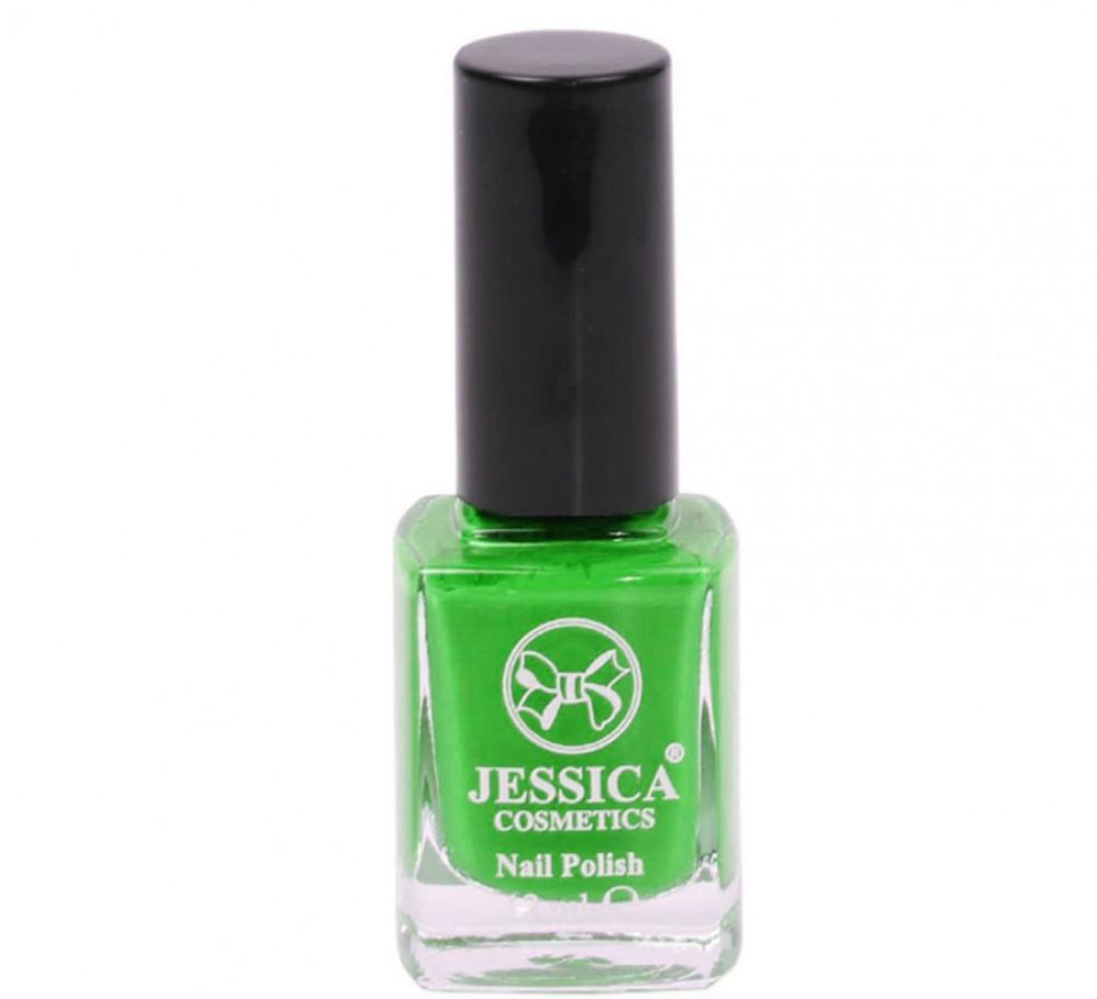 جيسيكا طلاء اظافر مطفي يدوم طويلا 133 اخضر فاتح   JESSICA Matt Nail Po