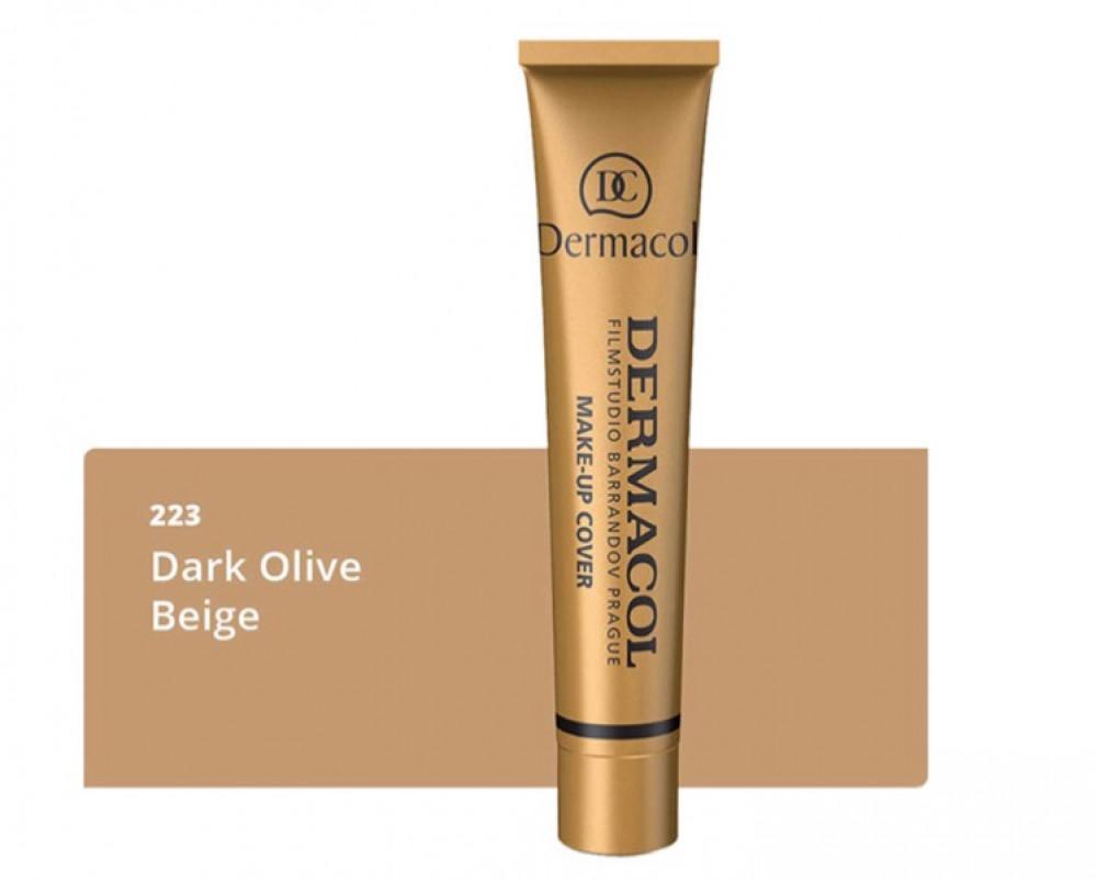 ديرماكول كريم اساس 223 للوجه وتغطية عيوب البشرة DERMACOL Make Up Cover