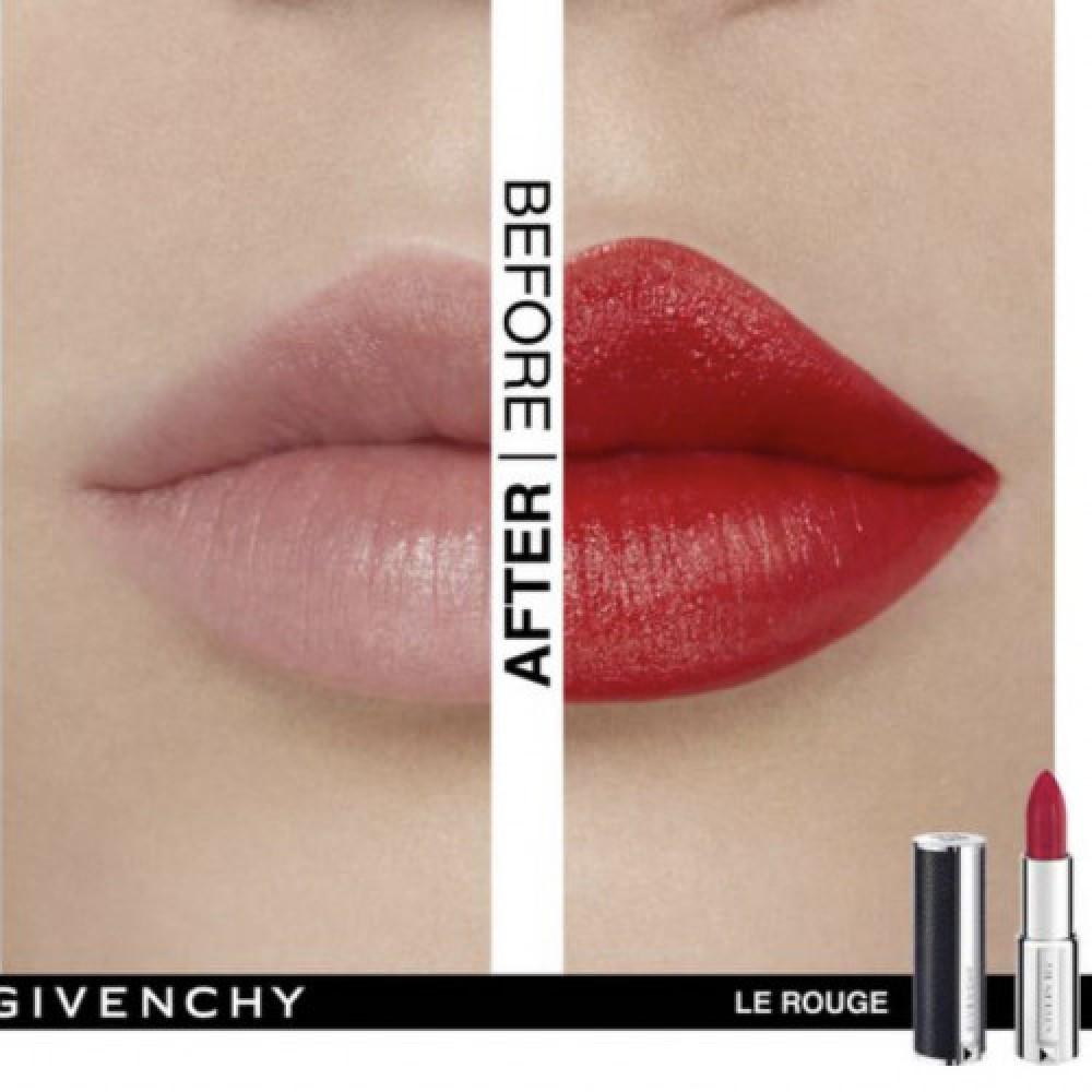 جيفنشي  احمر شفاه لو روج 304 ماندرين بوليرو مطفي  Givenchy Le Rouge 30
