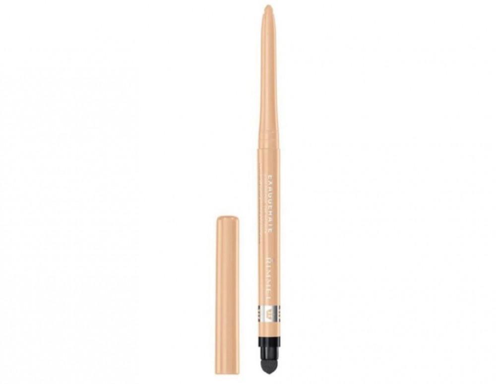 ريميل لندن قلم تحديد العيون إكساجريت مقاوم للماء مزود بفرشاة مدمجة 213