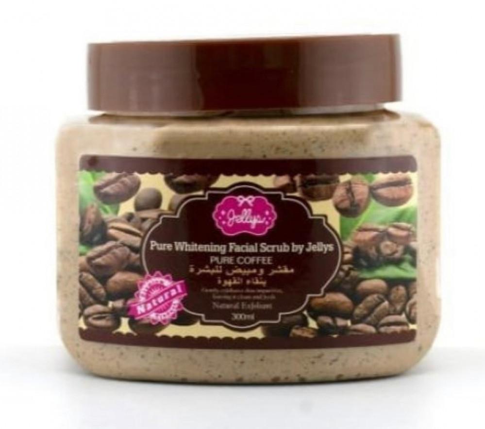 جيليز مقشر ومبيض للبشرة بنقاء القهوة 300مل