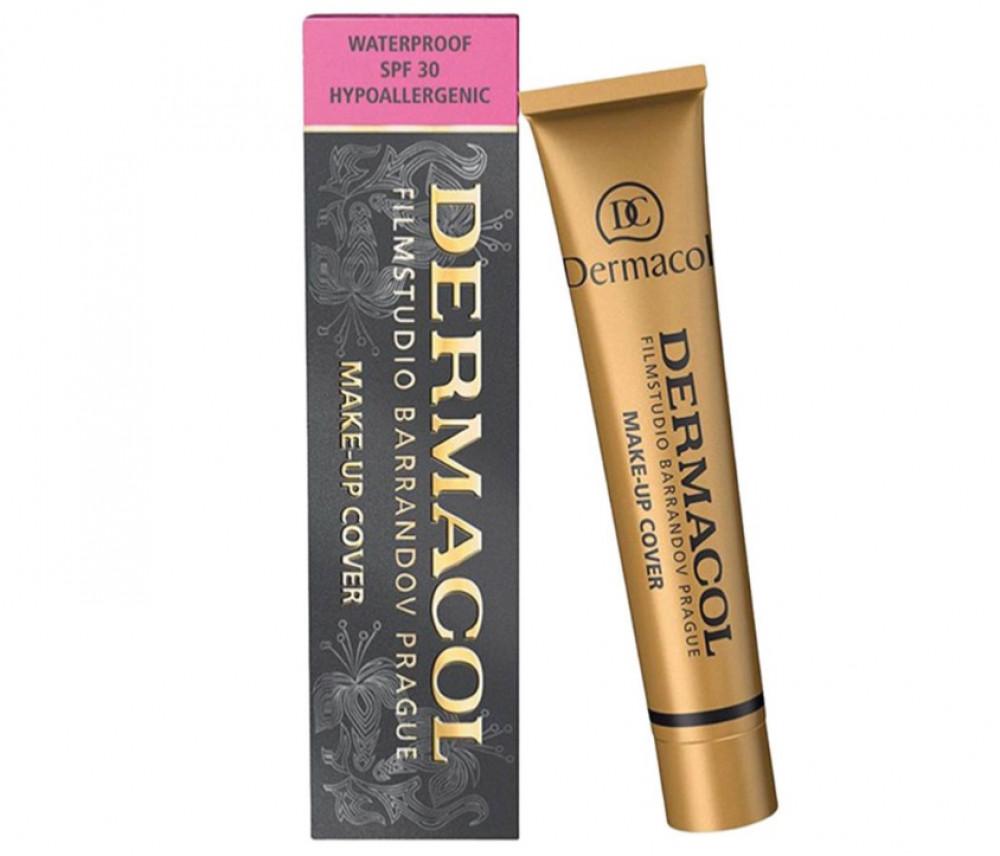ديرماكول كريم اساس 222 للوجه وتغطية عيوب البشرة DERMACOL Make Up Cover